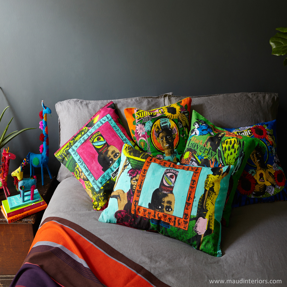 Couch Cover African Design Pads