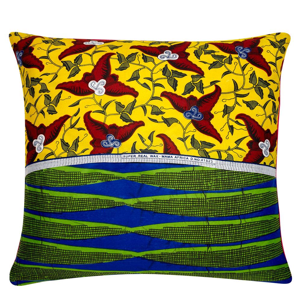 Mermaid Lime Green African Cushion Covers