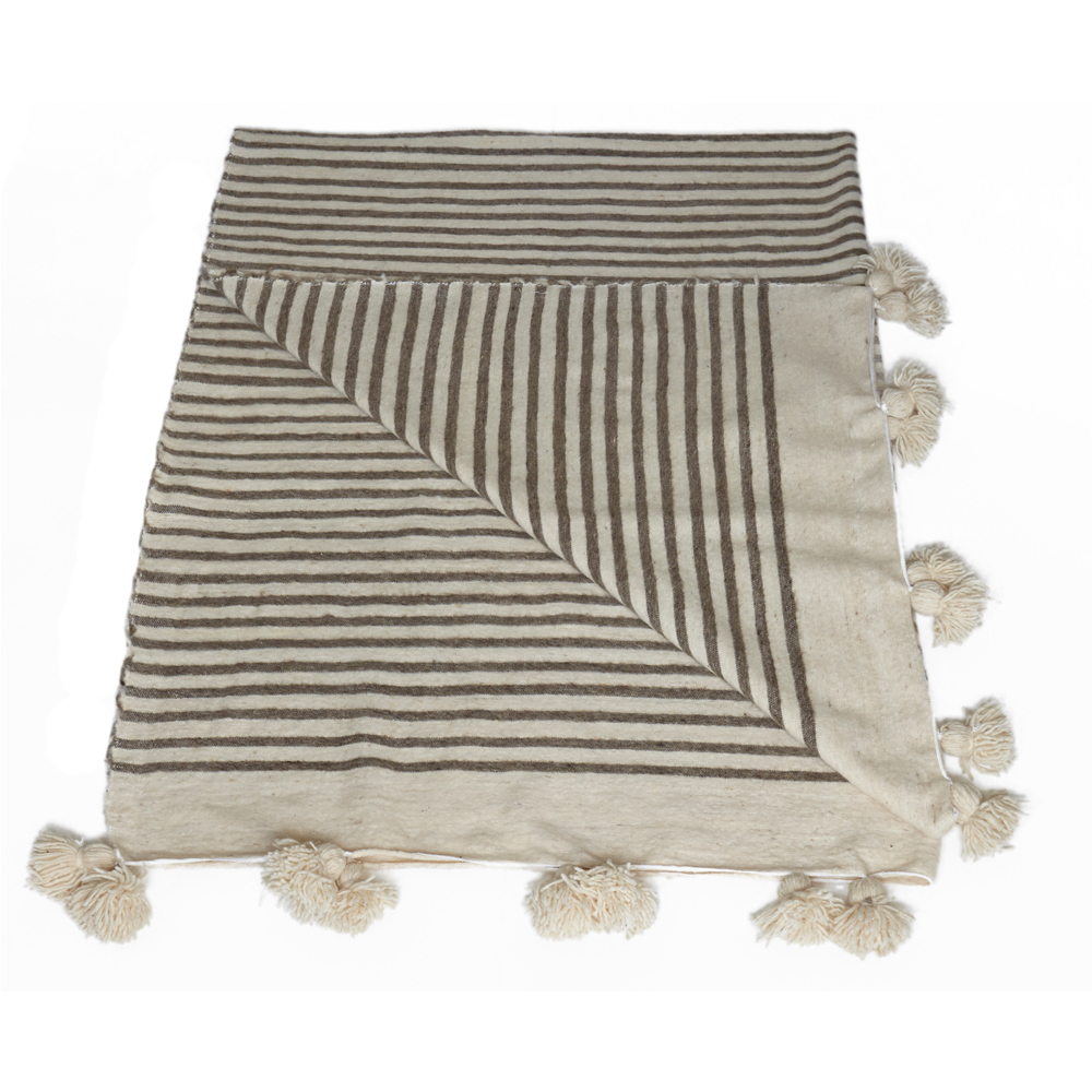 Moroccan wool blankets