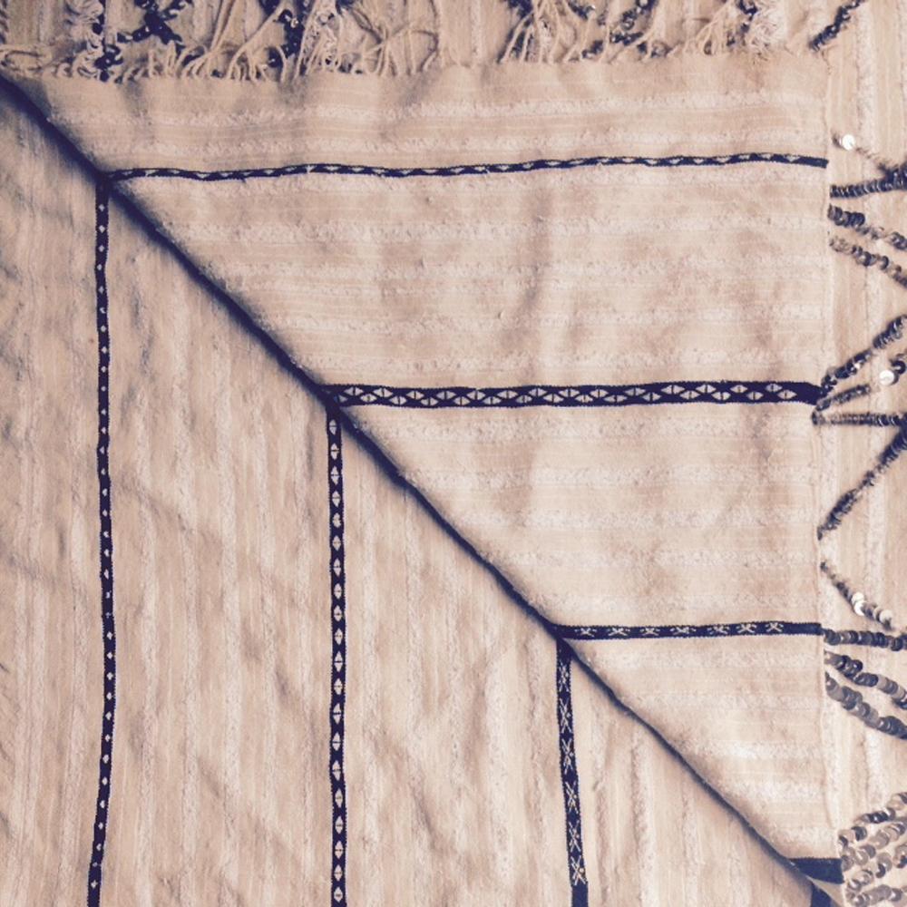 Moroccan Wedding Blanket.Vintage Moroccan Wedding Blanket Aya